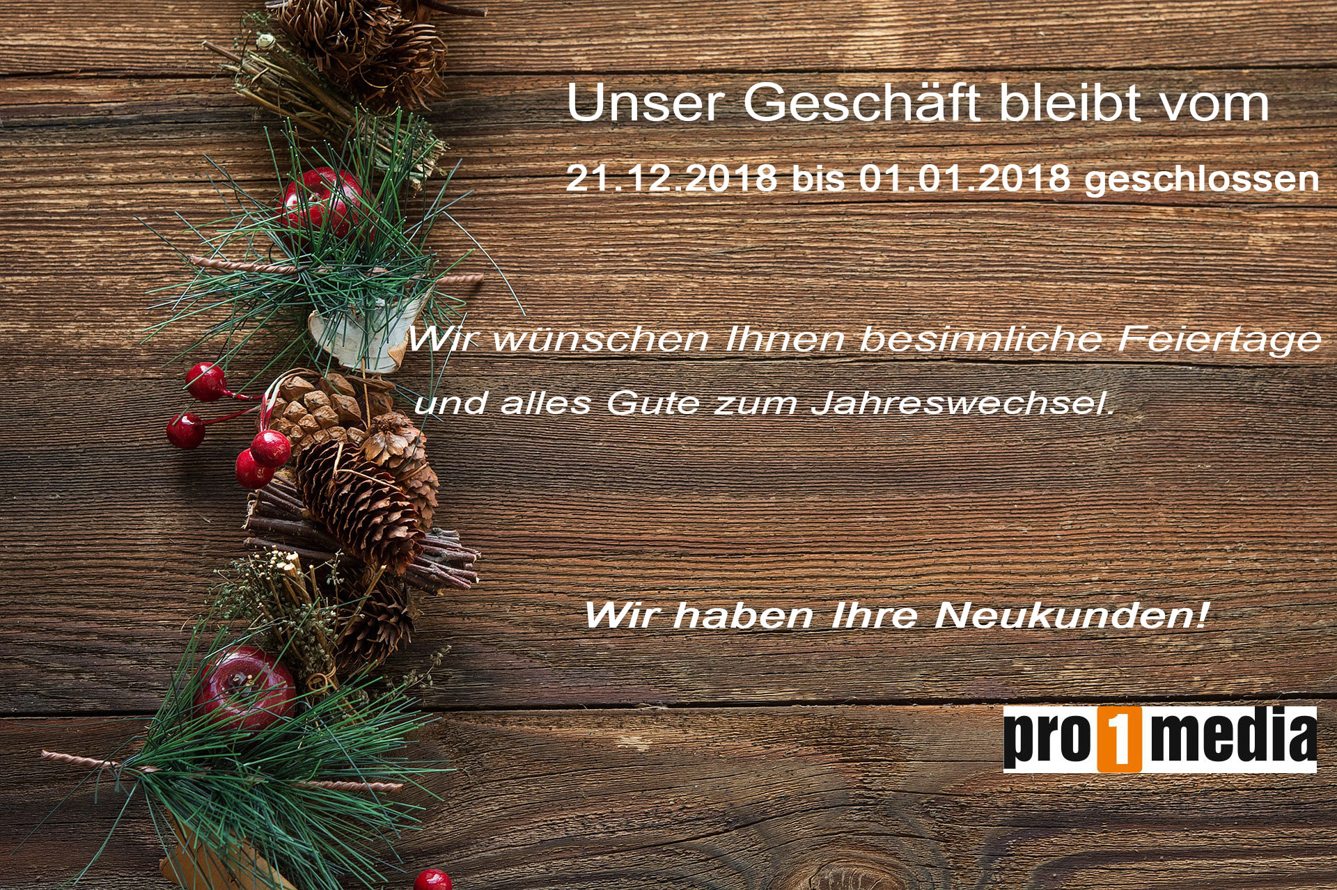 Read more about the article Weihnachtsferien